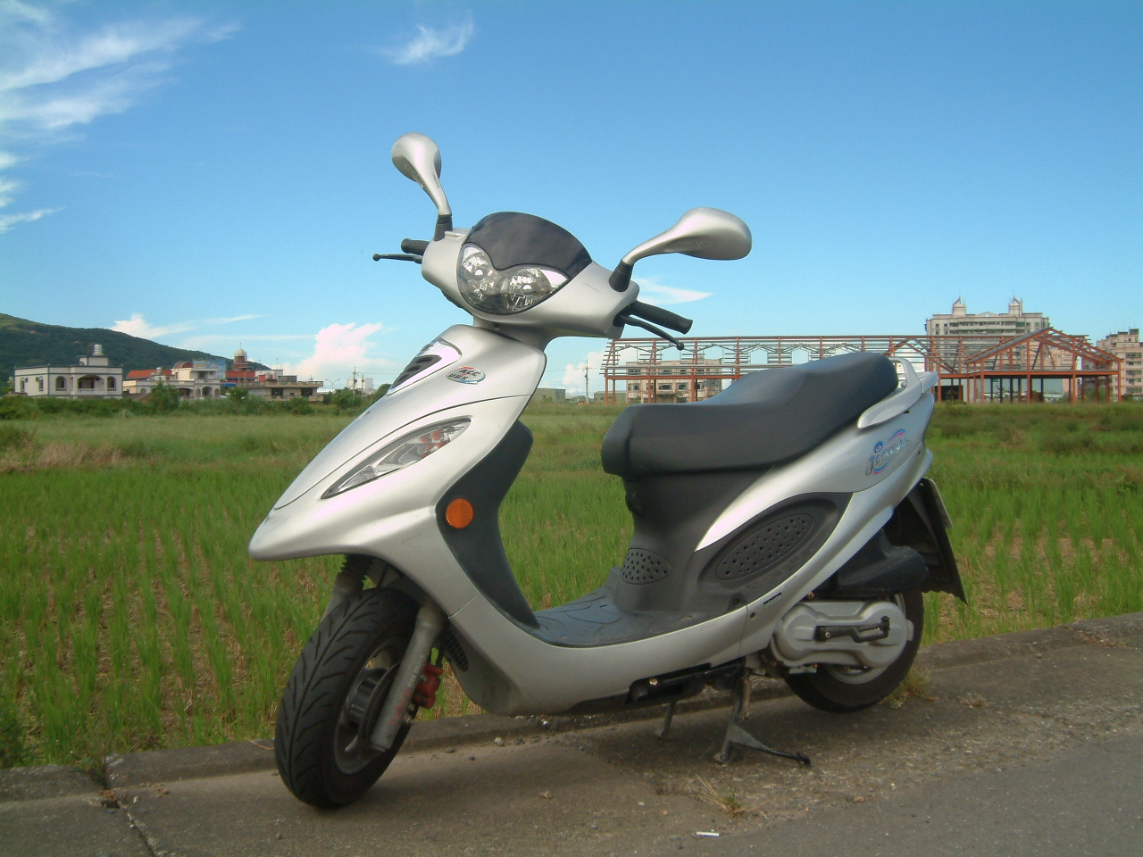 My motorcycle: Kymco G3 125  took by Vincent on